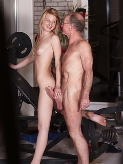 Old men naked hd